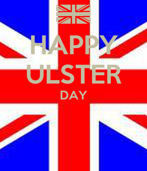 HAPPY ULSTER DAY
