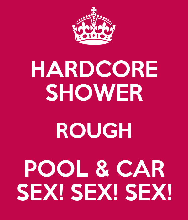 HARDCORE SHOWER ROUGH POOL & CAR SEX! SEX! SEX!