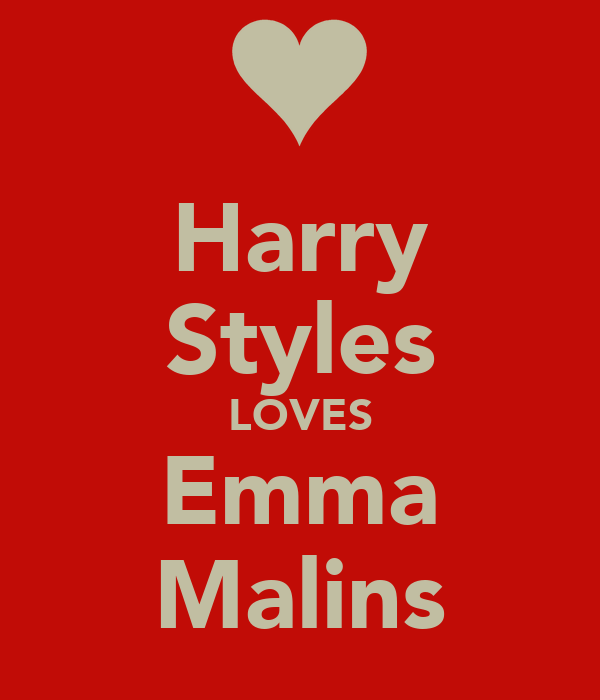 Harry Styles LOVES Emma Malins