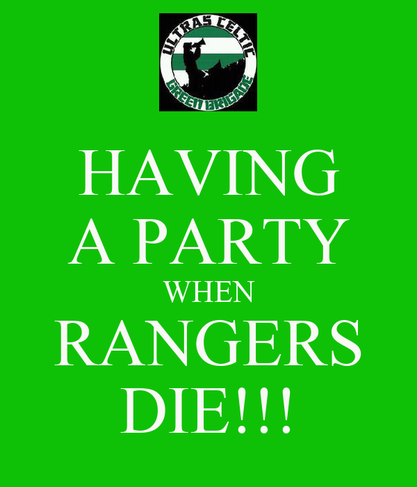HAVING A PARTY WHEN RANGERS DIE!!!