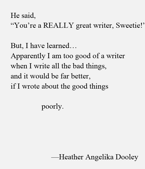 He said, 