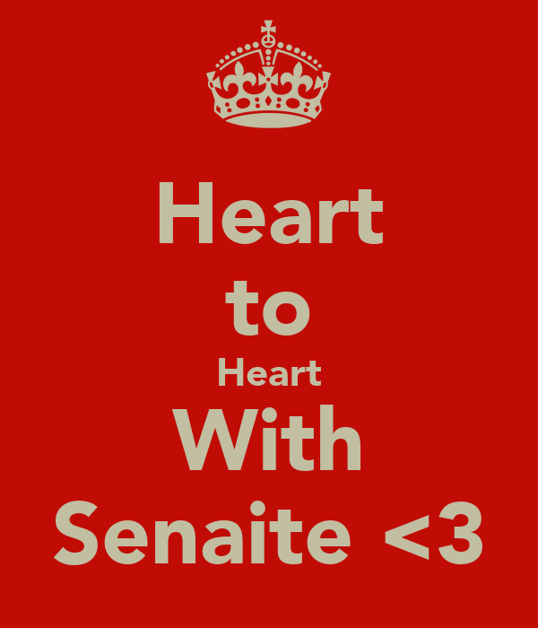 Heart to Heart With Senaite <3