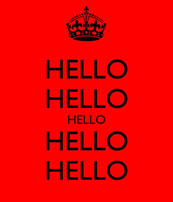 HELLO HELLO HELLO HELLO HELLO