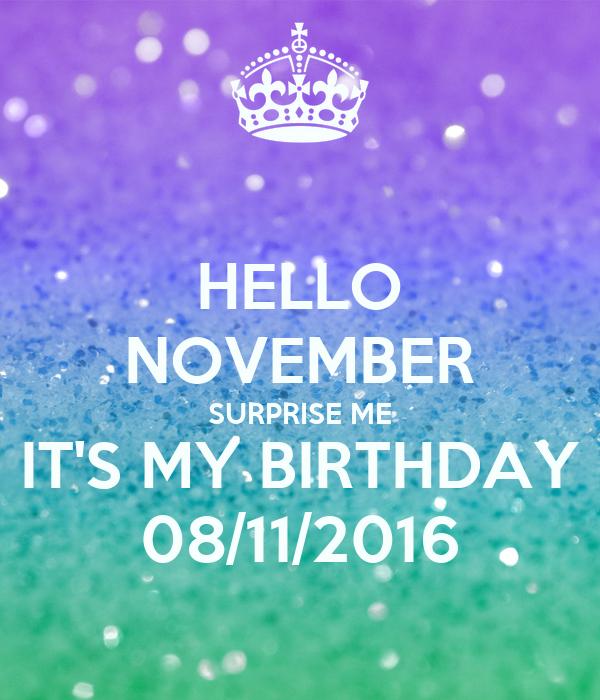 Hello October Surprise Me Download