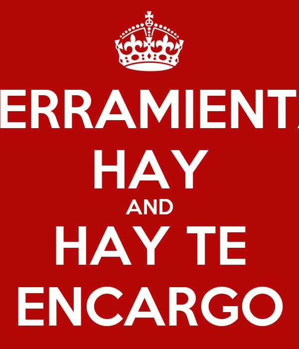 HERRAMIENTA HAY AND HAY TE ENCARGO