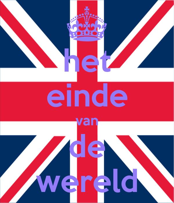 Het einde van de wereld poster keep calm o matic - Einde van de wereld meubilair ...