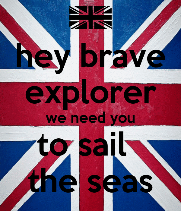 hey brave explorer we need you to sail   the seas