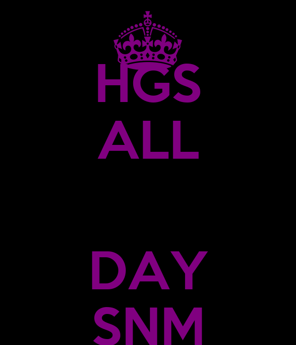 HGS ALL  DAY SNM