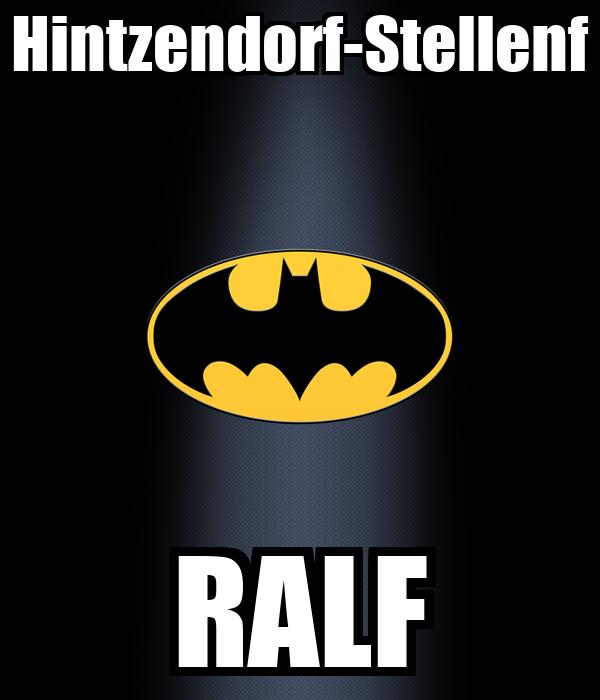 Hintzendorf-Stellenf RALF