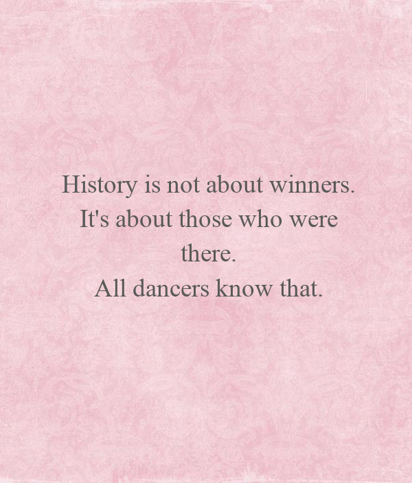 History is not about winners. 