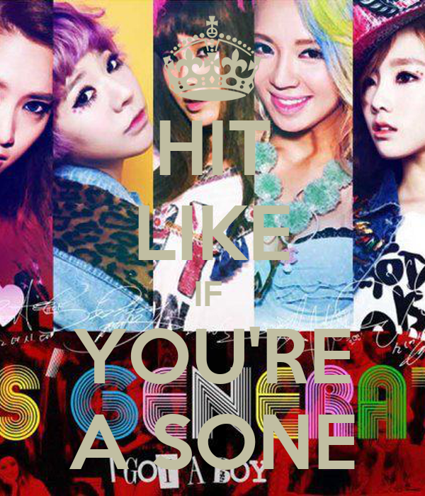 HIT LIKE IF  YOU'RE A SONE
