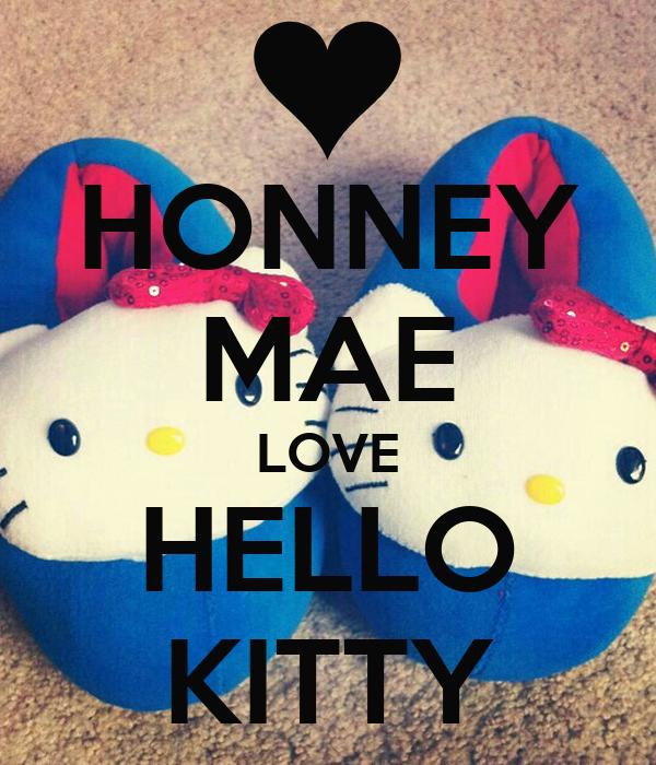 HONNEY MAE LOVE HELLO KITTY