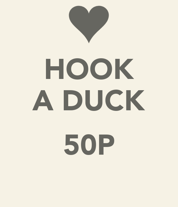 HOOK A DUCK  50P