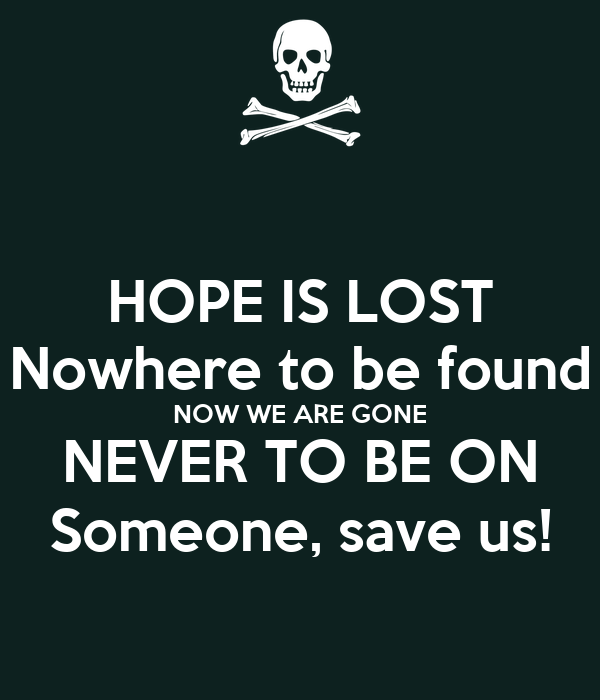 hope someone who save: