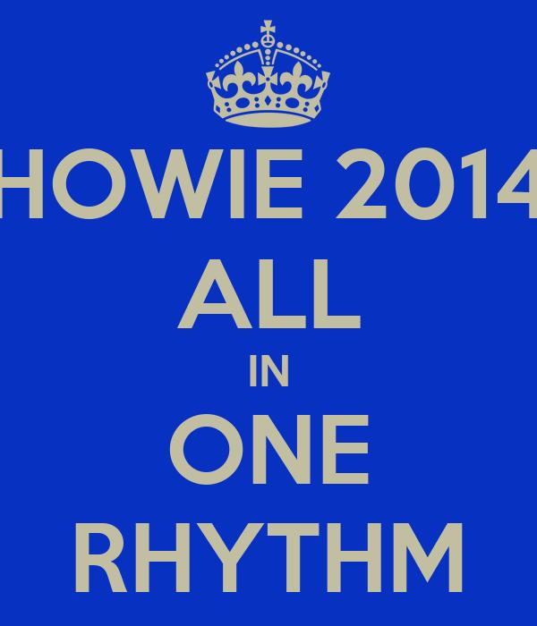 HOWIE 2014 ALL IN ONE RHYTHM