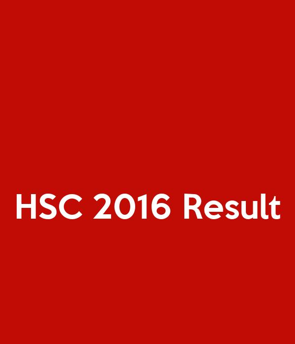 HSC 2016 Result