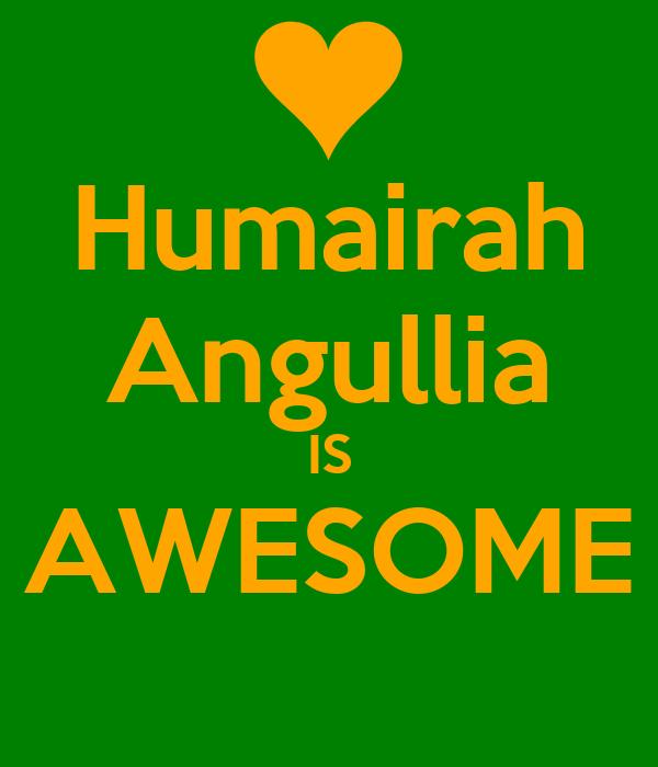 Humairah Angullia IS AWESOME