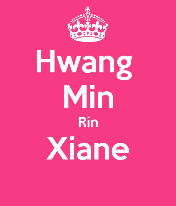 Hwang  Min Rin Xiane