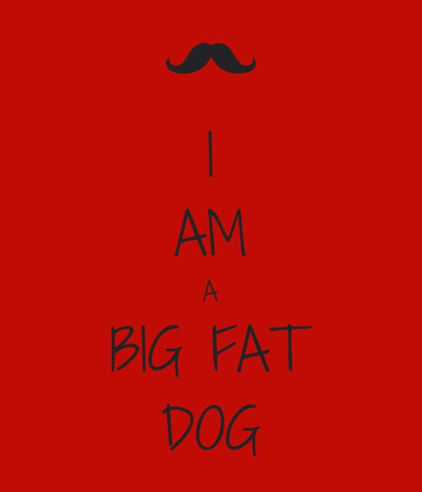 I AM A BIG FAT DOG