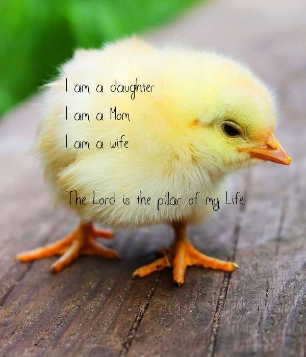 I am a daughter :)