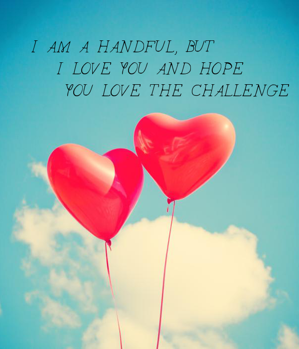 I AM A HANDFUL, BUT