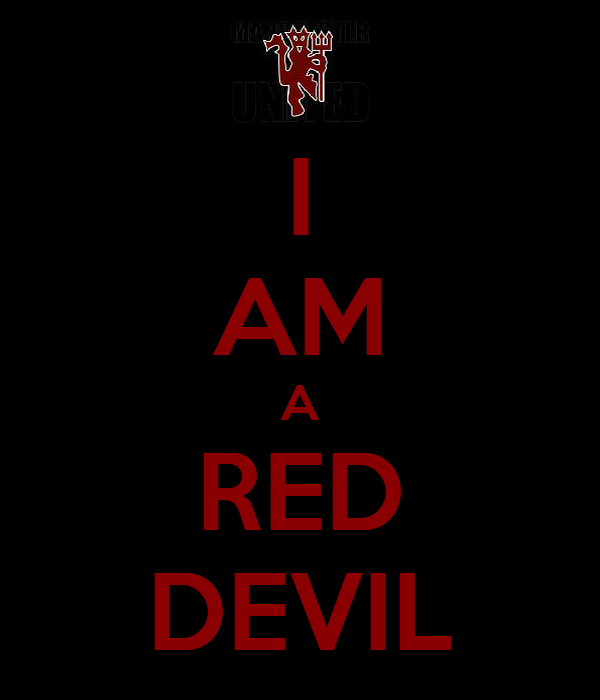 I AM A RED DEVIL