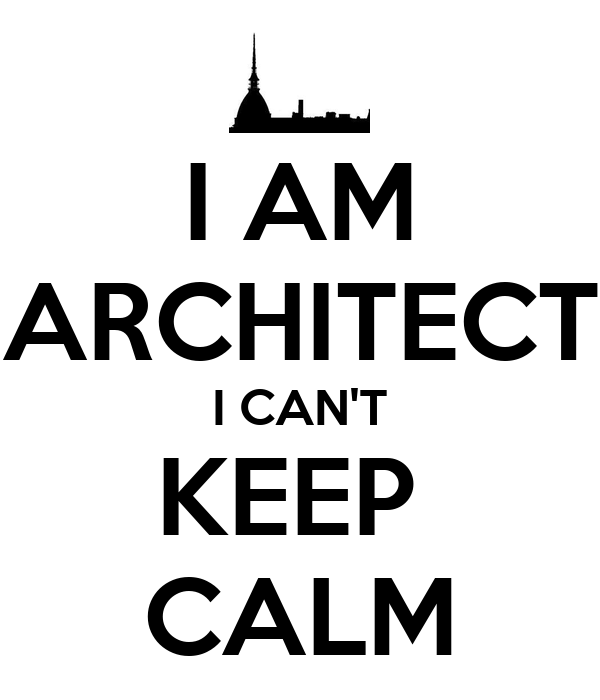 i am architect i can 39 t keep calm poster marco keep