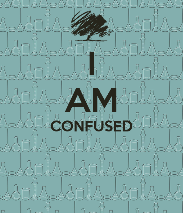 I AM CONFUSED Poster