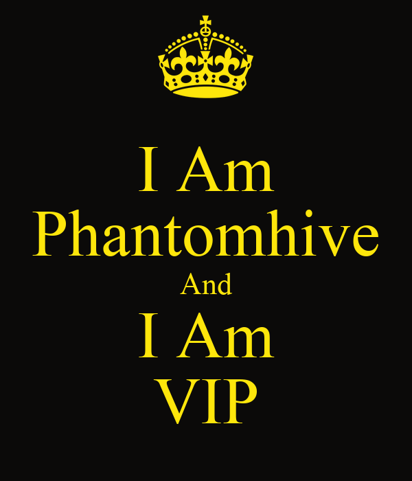I Am Phantomhive And I Am VIP