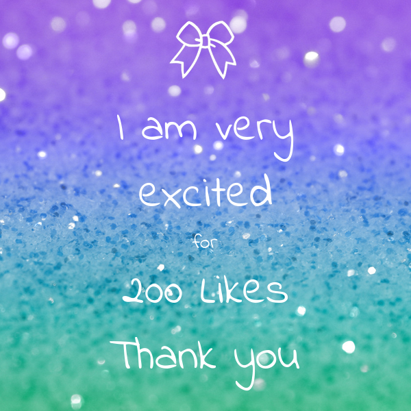 I am very excited for 200 Likes Thank you Poster | cjbrowne | Keep ...