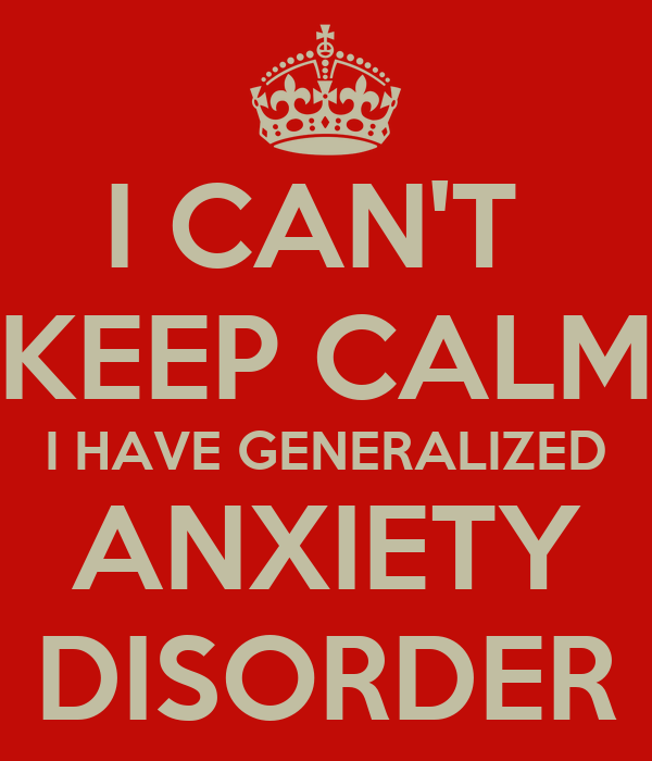 how to keep calm with anxiety