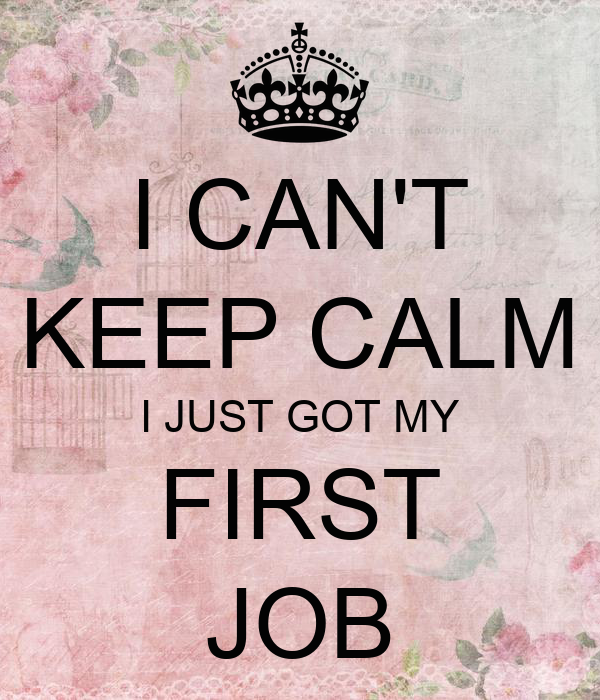 when i got my first job essay When you get your first job offer, you can dig in and ask for more money may receive compensation for some links to products and services on this website.