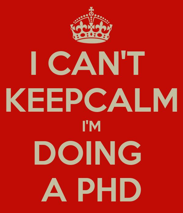 Non thesis phd programs