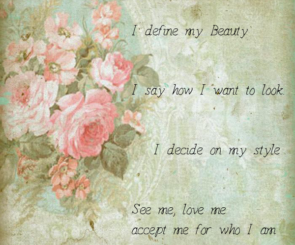 I define my Beauty