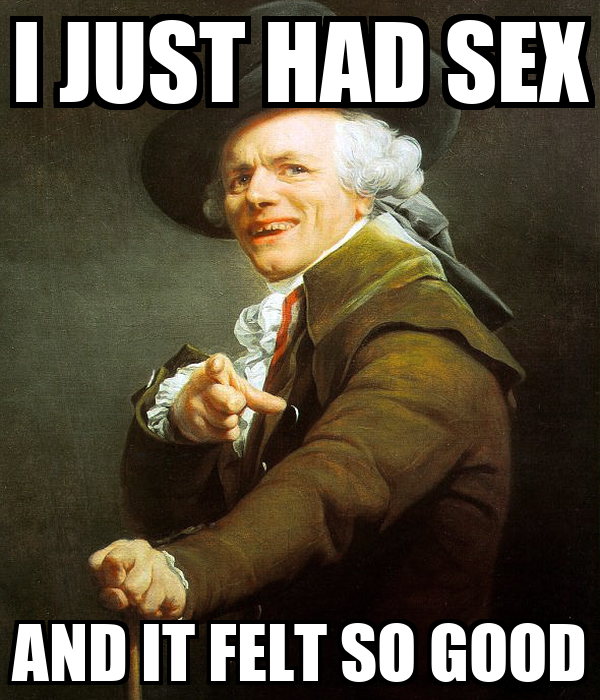 I JUST HAD SEX AND IT FELT SO GOOD