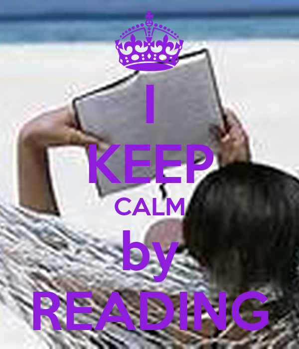 I KEEP CALM by READING