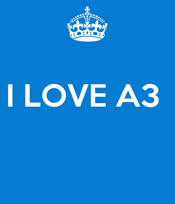 I LOVE A3