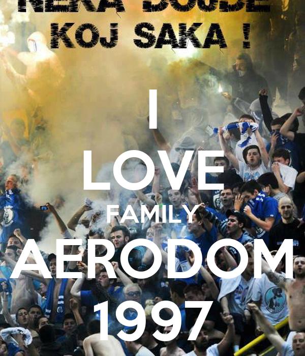 I LOVE FAMILY AERODOM 1997