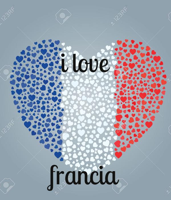i love    francia