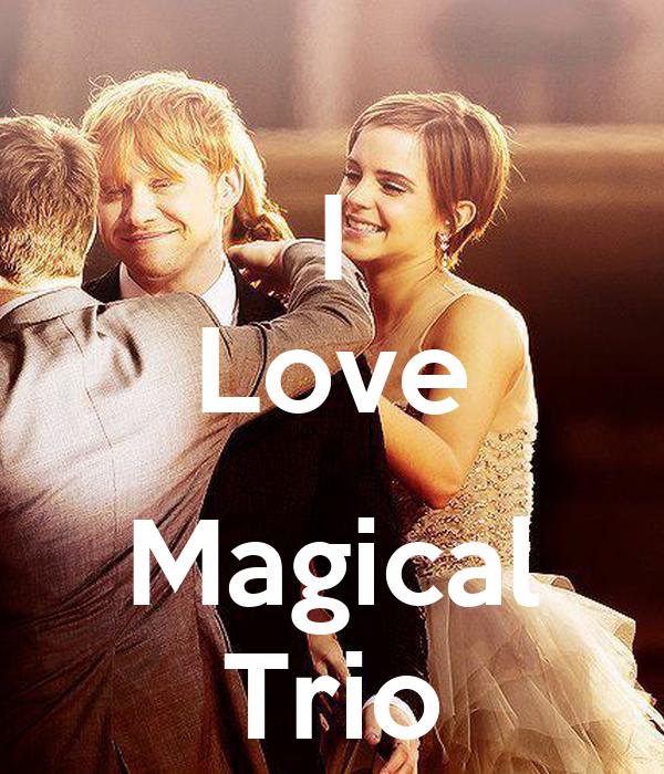 I Love  Magical Trio