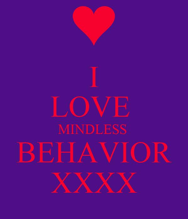 I LOVE  MINDLESS  BEHAVIOR XXXX