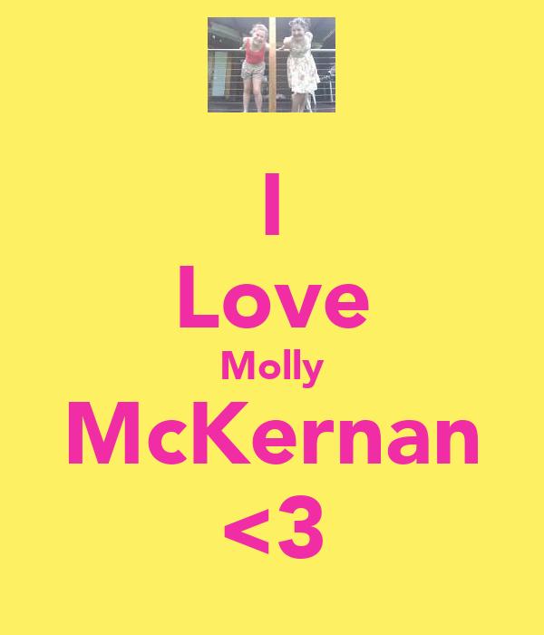I Love Molly McKernan <3