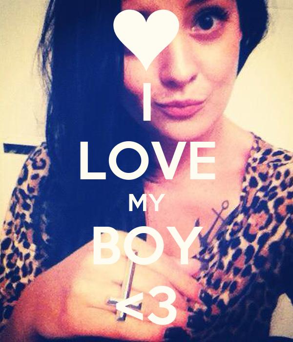I LOVE MY BOY <3