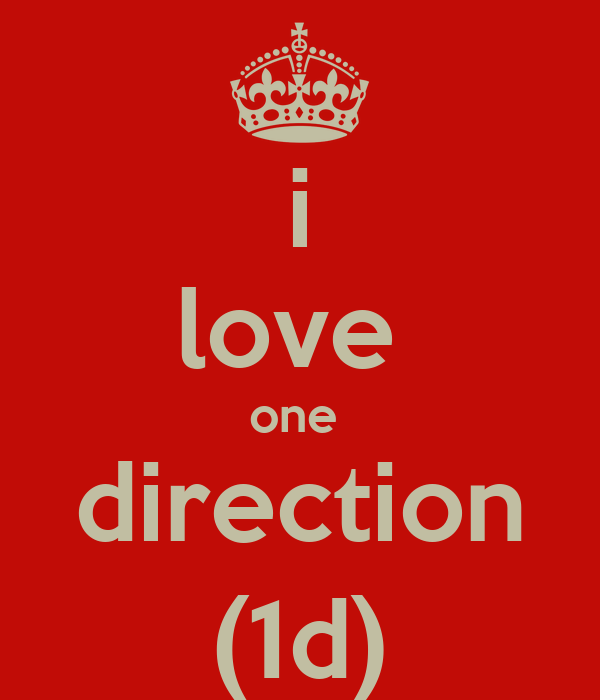 i love  one  direction (1d)
