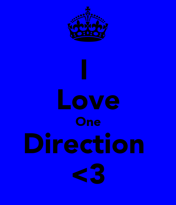 I  Love One Direction  <3