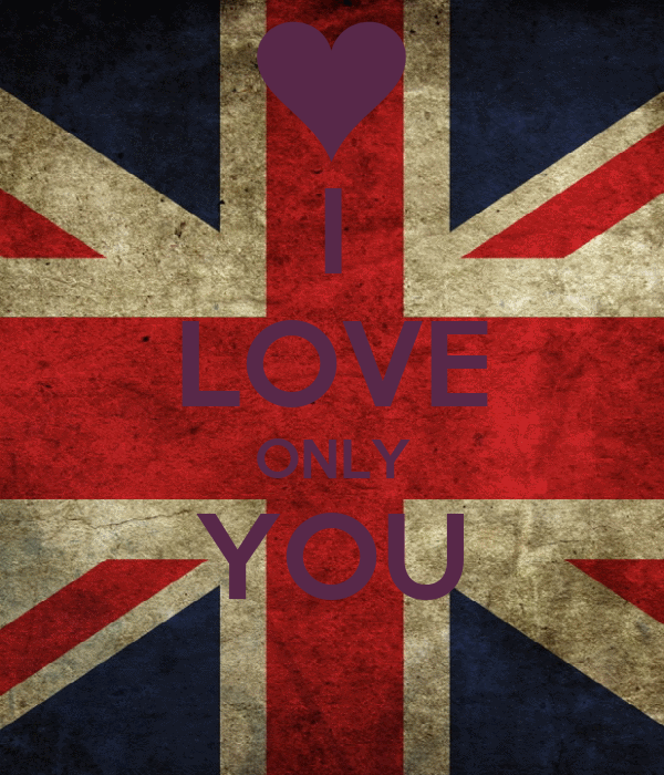 I LOVE ONLY YOU