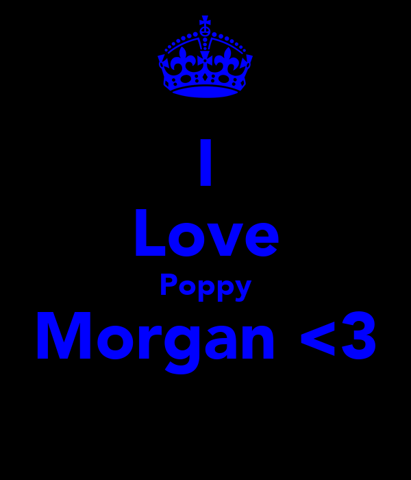 I Love Poppy Morgan <3