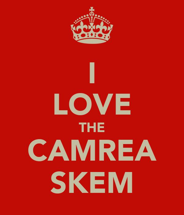 I LOVE THE CAMREA SKEM