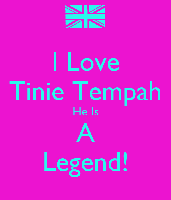 I Love Tinie Tempah He Is A Legend!