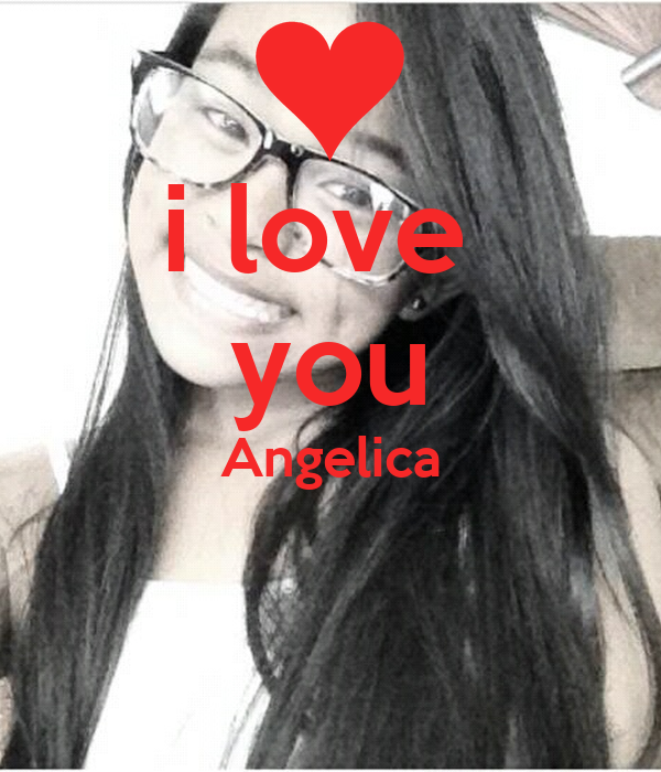i love you Angelica Poster | Mike ancheta loves angelica ...